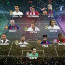 UEFA.comユーザ選出2016ベストイレブン発表