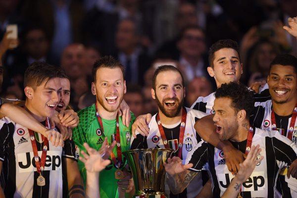 前人未到となるコッパ・イタリア3連覇を達成!